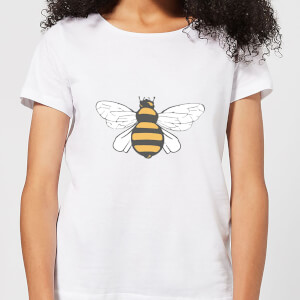 Bee Women's T-Shirt - White
