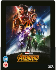 Avengers Infinity War 3D (Includes 2D Blu-ray) - Zavvi Exclusive Lenticular Steelbook