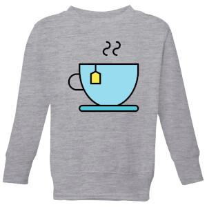 Cooking Cup Of Tea Kids' Sweatshirt