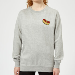 Cooking Small Hot Dog Women's Sweatshirt