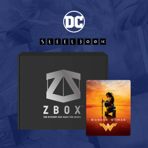 Mystery Zavvi UK Exclusive DC Comics SteelBook x ZBOX