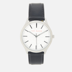 Ted Baker Men's Manhatt Watch - Silver/Black