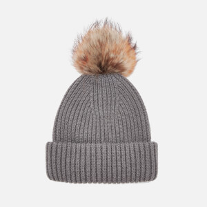 BKLYN Women's Oversized Hat - Cappuccino/Tiger