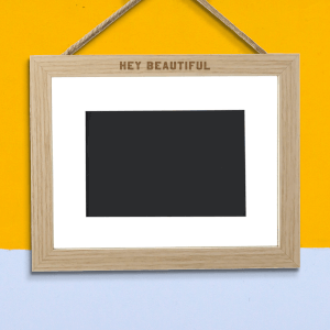 Hey Beautiful Landscape Frame