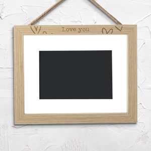Love You Landscape Frame