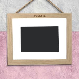 #Selfie Landscape Frame