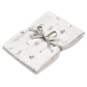 Cam Cam Light Printed Swaddle - Fawn