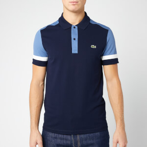 Lacoste Men's Cut and Sew Polo Shirt - Navy