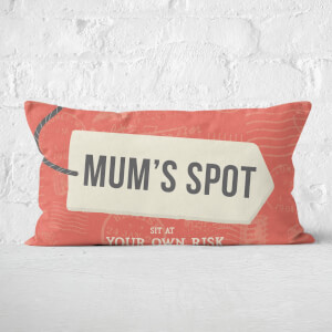 Mum's Spot Rectangular Cushion
