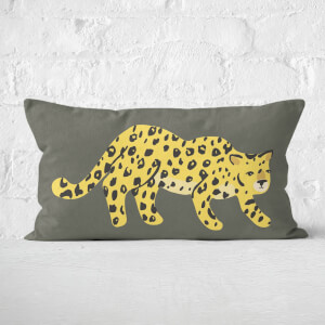 Cheetah Prowl Rectangular Cushion