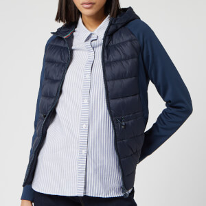 Barbour Women's Underwater Sweater Jacket - Navy