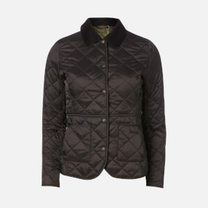 Barbour Women's Deveron Quilt Jacket - Black/Olive
