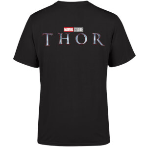 Marvel 10 Year Anniversary Thor Men's T-Shirt - Black