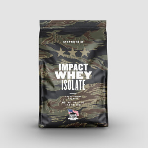 Myprotein Veterans Day Impact Whey Isolate - Salted Caramel