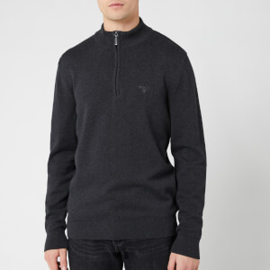 Barbour Men's Avoch Half Zip Sweatshirt - Charcoal Marl