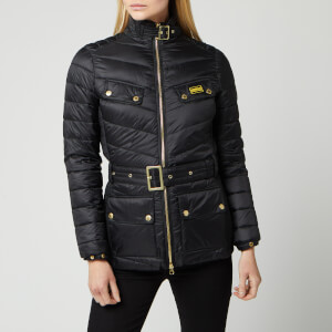 Barbour International Women's Gleann Quilted Jacket - Black
