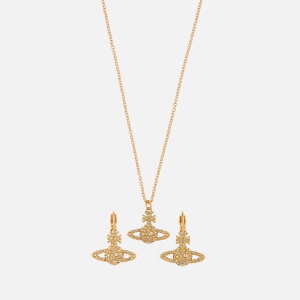 Vivienne Westwood Women's Grace Bas Relief Earrings and Pendant Giftset - Gold Aurore Boreale