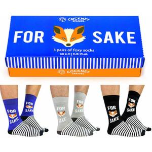 Cockney Spaniel Sock Gift Box - For Fox Sake