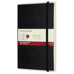 Moleskine Paper Tablet P+ Ruled Black - Large
