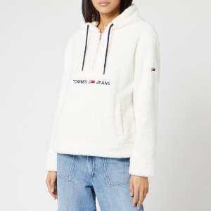 Tommy Jeans Women's Tommy Teddy Popover - Marshmellow
