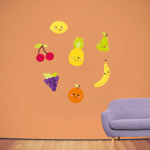 Kids Fruit Pack 1 Wall Art Sticker Pack