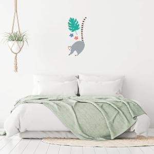 Lemur Wall Art Sticker