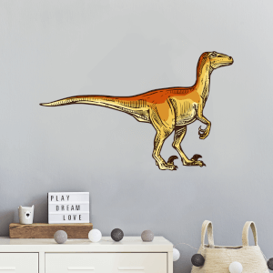 Velociraptor Wall Art Sticker
