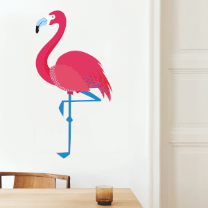 Flamingo Wall Art Sticker