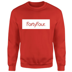 How Ridiculous Forty Four Banner Sweatshirt - Red