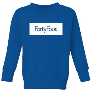 How Ridiculous Forty Four Banner Kids' Sweatshirt - Royal Blue