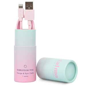 Talmo Charge and Sync Lightning Cable - Bubblegum Pink