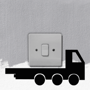 Truck Light Switch Art