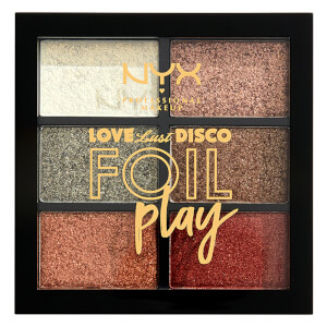 NYX Professional Makeup Love Lust & Disco Get Down Foil Play Shimmer Eyeshadow Palette