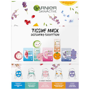 Garnier Tissue Mask Discovery Collection (Worth £13.96)