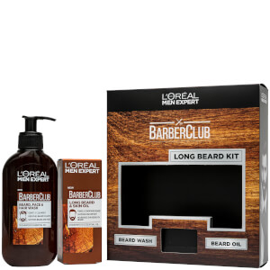 L'Oréal Paris Men Expert Barberclub Long Beard Gift Set (Worth £20.98)