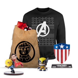 Méga lot de Noël Marvel Officiel