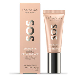 MÁDARA SOS Eye Revive Hydra Cream and Mask 20ml