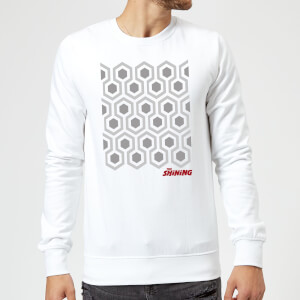 The Shining Carpet Sweatshirt - White