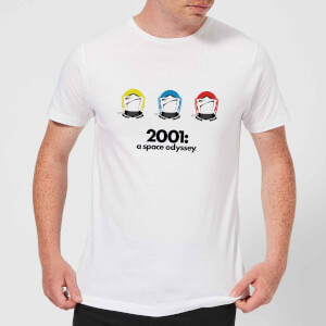 2001: A Space Odyssey Space Helmets Men's T-Shirt - White