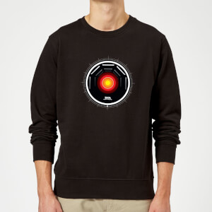 2001: A Space Odyssey Hal 9000 Stylised Eye Sweatshirt - Black