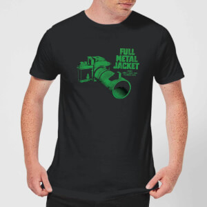 Full Metal Jacket Camera Men's T-Shirt - Black