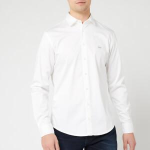 BOSS Men's Mypop Shirt - White
