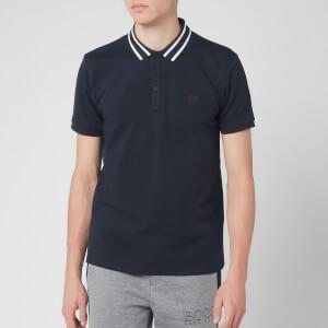 BOSS Men's Premixt Polo Shirt - Navy