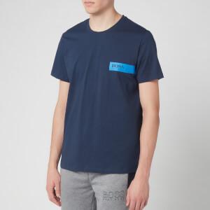 BOSS Hugo Boss Men's Black Logo T-Shirt - Navy