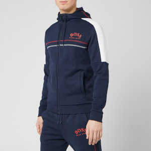 BOSS Hugo Boss Men's Saggy Zip Hoody - Navy