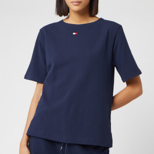 Tommy Hilfiger Women's Flag Core T-Shirt - Navy Blazer