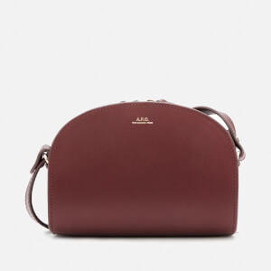 A.P.C. Women's Mini Demi Lune Bag - Red