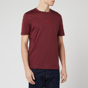 HUGO Men's Durned 201 T-Shirt - Dark Red