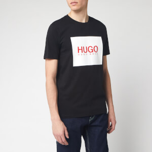 HUGO Men's Dolive 201 T-Shirt - Black