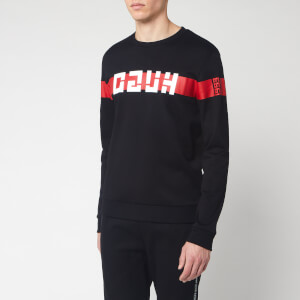 HUGO Men's Daar Sweatshirt - Black